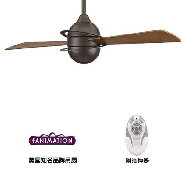 [top fan] Fanimation Involution #FP4520OB 52英吋 兩葉吊扇(110V電壓)附遙控器-油銅色