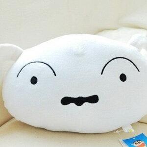 美麗大街【104062501-09】9吋蠟筆小新小白午安枕 抱枕