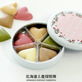 [六花亭] 心形巧克力