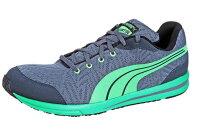 PUMA運動品牌推薦PUMA運動鞋/慢跑鞋/外套推薦到(特價) PUMA 彪馬 男 跑鞋 輕量 18747308 灰綠