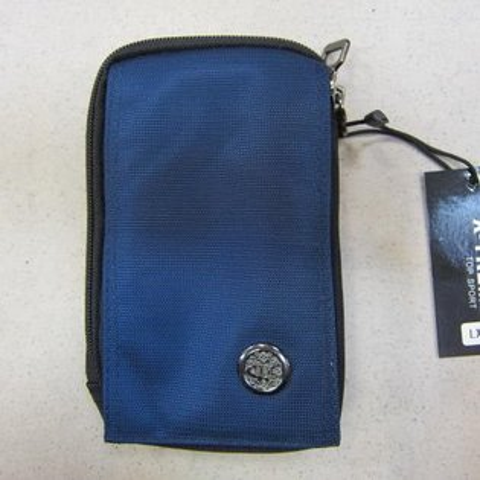 ~雪黛屋~X-TREME 外掛式腰包 二層主袋隨身物品專用包型男必備腰包 防水尼龍布工具65-810深藍