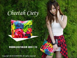 ∥配件王∥現貨 Cheetah Ciety CC包 泰國曼谷設計師品牌 手拿包 防水 萬用小包 非 BKK GAGA