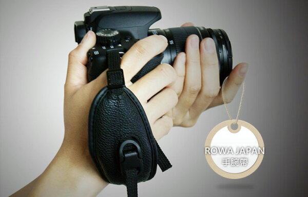 ∥配件王∥ROWA JAPAN 單眼相機專用 DSLR 皮質 手腕帶 免運 另有 ICODE GOLLA HELLOLULU