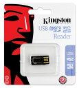 Kingston MRG2 Micro SD 讀卡機 黑色 超小 金士頓 支援 TF Micro SD/SDHC/SDXC 記憶卡