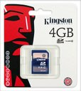 Kingston SD4/4GB 金士頓 SD CLASS 4 4G SD 記憶卡
