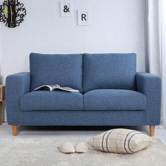 【迪瓦諾】貓抓布沙發 2人沙發/牛仔藍/台灣製 /可訂做 0