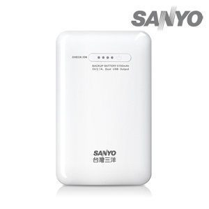 三洋高容量8700mAh攜帶型雙USB行動電源(SYPP-02)