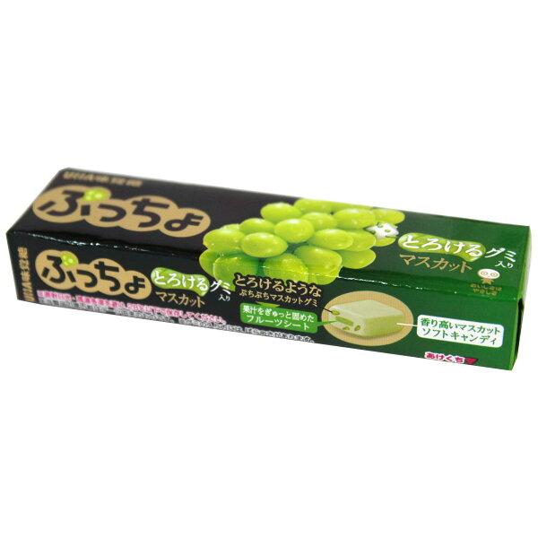 UHA 味覺糖噗啾條糖-青葡萄 50g