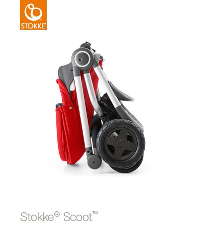【本月贈市價$1050杯架】【贈Borny安全帶護套(花色隨機)】Stokke Scoot 2代嬰兒手推車(湖水藍) 2