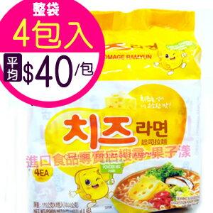 韓國八道 起司拉麵 泡麵(袋裝4包入)[KR139A] - 限時優惠好康折扣