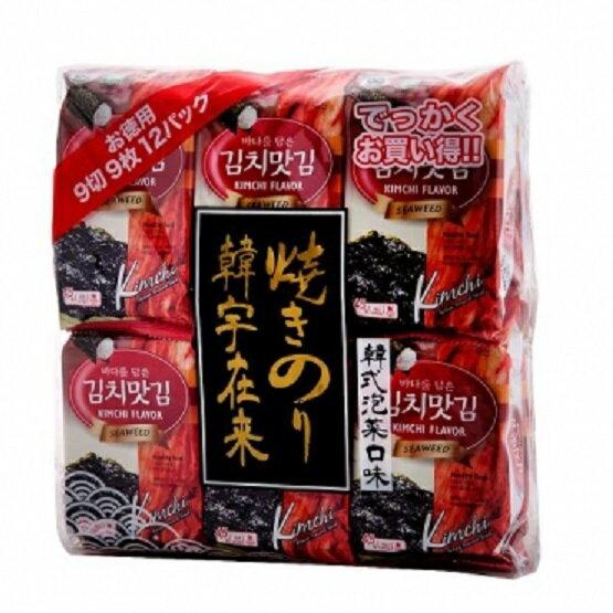 韓宇在來12入海苔-泡菜 648g