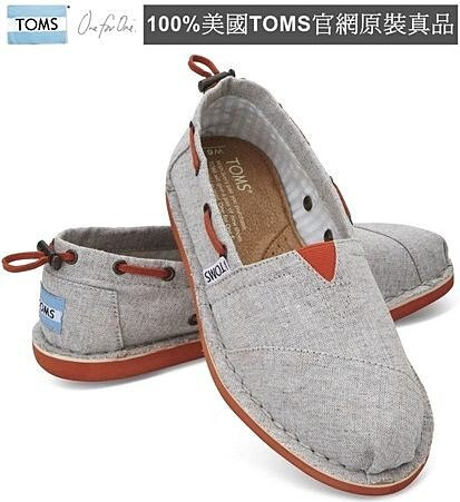 【Cadiz】美國真品正品 TOMS 灰色抽繩帆布平底鞋 [Grey Chambray Women's Biminis/ 代購/ 現貨]/ 代購/ 現貨] - 限時優惠好康折扣