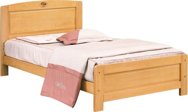 【石川家居】 EF-97-2 歌莉雅檜木3.5尺單人床架 (不含其他商品) 大需搭配車趟