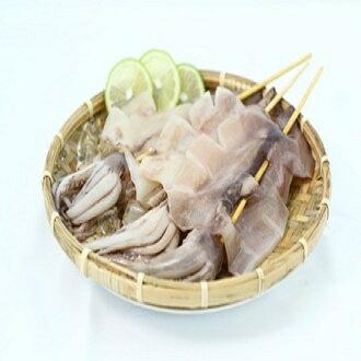 【阿根廷魷魚】  一包3串(一隻約180克)  ▶優鮮漁舖 Fish Golden