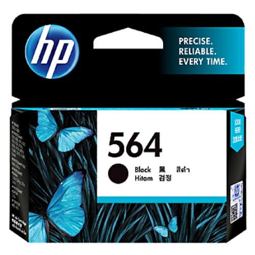 【HP 墨水匣】HP CB316WA /NO. 564 原廠黑色墨水匣