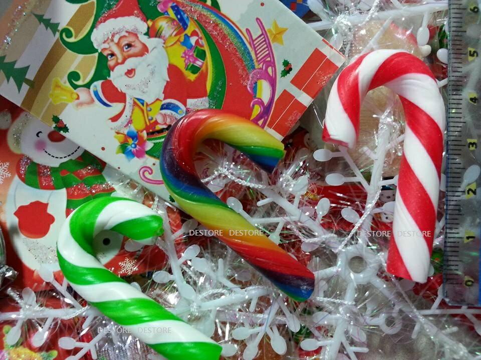 有樂町進口食品  聖誕節限定 彩色拐杖糖 1000G(約180~195隻) 專屬包裝 婚禮小物 同樂會 2