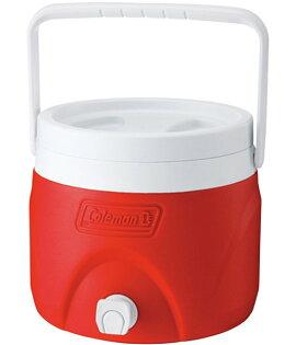 ├登山樂┤美國 Coleman 7.6L 置物型冰桶/紅 # CM-1362J