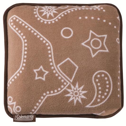 ├登山樂┤美國 Coleman 刷毛毯 (阿米巴圖騰) 2013秋冬限量款 抱枕毯 車用毯 # CM-6145
