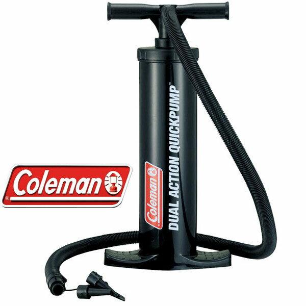 ├登山樂┤美國 Coleman  雙用快速打氣筒(手動) 可打氣可充氣 材質PP 睡墊打氣必備 品質保證 # CM-6829