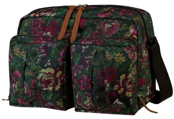 ├登山樂┤美國GREGORY Twin Pocket Shoulder 城市休閒包 S號 多口袋側背包 肩背包-花園油彩 # 74285