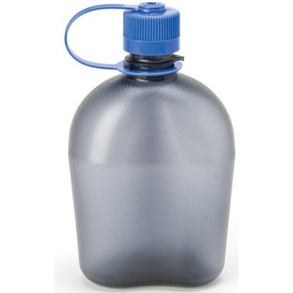 ~登山樂~Nalgene OASIS軍式水壺 1公升~藍、紅、煙霧灰 ^#1777