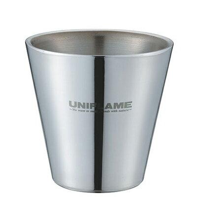 ├登山樂┤日本 UNIFLAME SUS 雙層鋼杯400ml # U666289