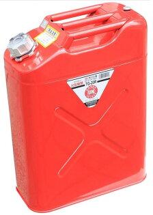 ├登山樂┤日本 YAZAWA 軍規級儲油桶20L 紅 # TG-20R