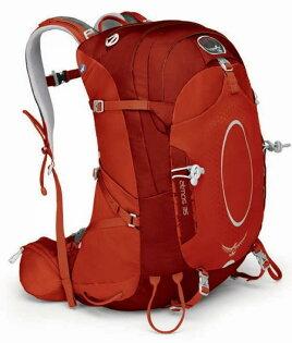 ├登山樂┤ 美國 Osprey ATMOS 35 網架輕量登山背包 Oxide #014235-365