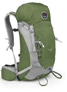 ├登山樂┤ 美國 Osprey Kestrel 28 輕量背包 Conifer Green #033728-771