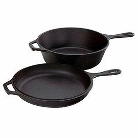 ├登山樂┤MAGIC 10吋COMBO 萬用鍋 鑄鐵鍋 平底鍋 荷蘭鍋 #RV-IRON503A