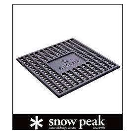 ├登山樂┤日本Snow Peak焚火台- L炭床 # ST-032S