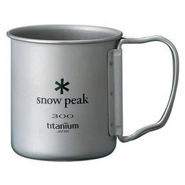 ├登山樂┤日本Snow Peak 鈦金屬單層杯折疊把手 300ml # MG-042FH