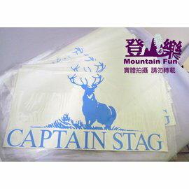 ├登山樂┤日本Captain Stag 鹿牌 LOGO反光3M貼紙 汽車貼紙 # M-0001 (兩張壹組)
