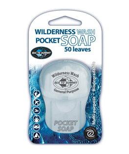 ├登山樂┤澳洲 Sea To Summit POCKET SOAP 戶外用紙片肥皂 50片裝 # APSOAP