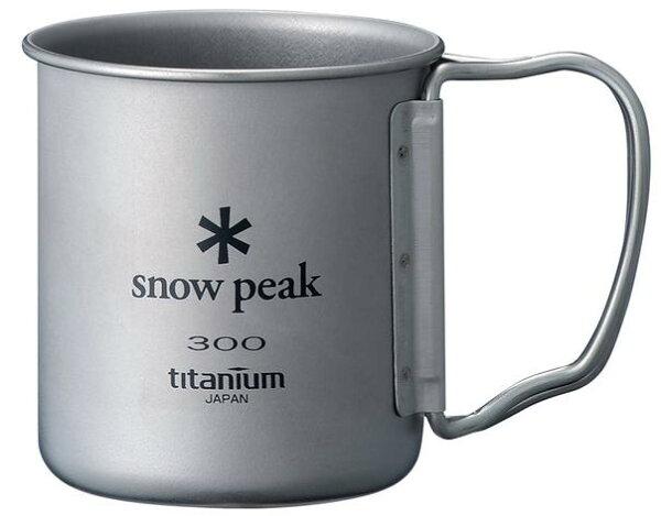 ├登山樂┤日本Snow Peak 新款無收納袋 鈦金屬單層杯折疊把手 300ml # MG-042FHR