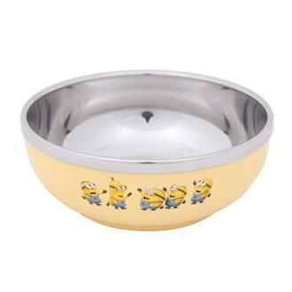 韓國進口【Minions小小兵 不鏽鋼碗 / 湯碗 / 餐碗 / 兒童碗 (12.5x5.5cm) 】