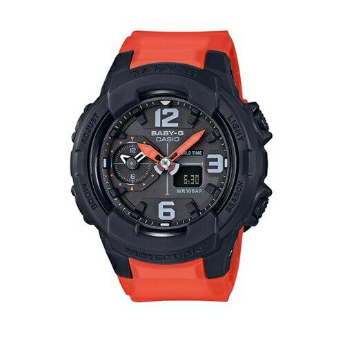 CASIO BABY-G酷黑勁耀奪目運動腕錶