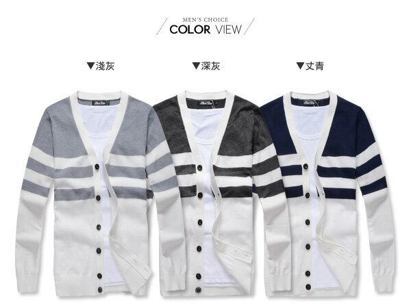 ☆BOY-2☆【NQEB379】韓版刷毛菱形針織外套 1