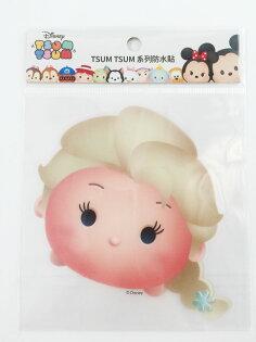 【真愛日本】16011200042  TSUM防水貼紙-Elsa   冰雪奇緣   艾莎公主 迪士尼 裝飾貼紙 PVC 貼紙