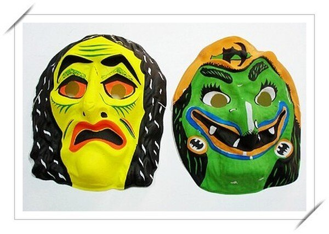 鬼面具.萬聖節鬼面具.造型面具.變裝面具(薄.膠面)/一個入{促10}