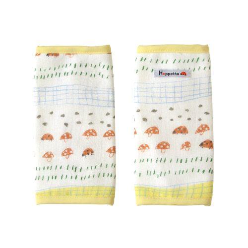 現貨 HOPPETTA 日本製 蘑菇森林背巾口水巾 蘑菇森林揹巾口水巾