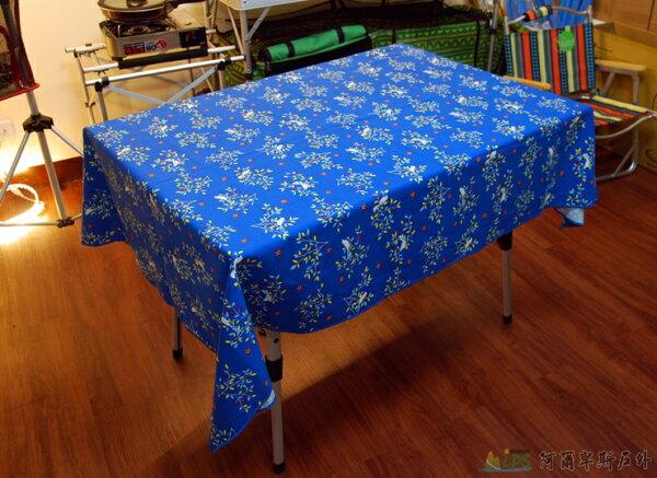 [阿爾卑斯戶外/露營] 土城 精選桌巾桌布112 x 160cm多款蛋捲桌摺疊桌餐桌適用 AD0046
