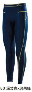 (陽光樂活)-MIZUNO美津濃 BIO GEAR緊身褲  男款 BG3000R 機能壓縮緊身褲  A60BP-37083