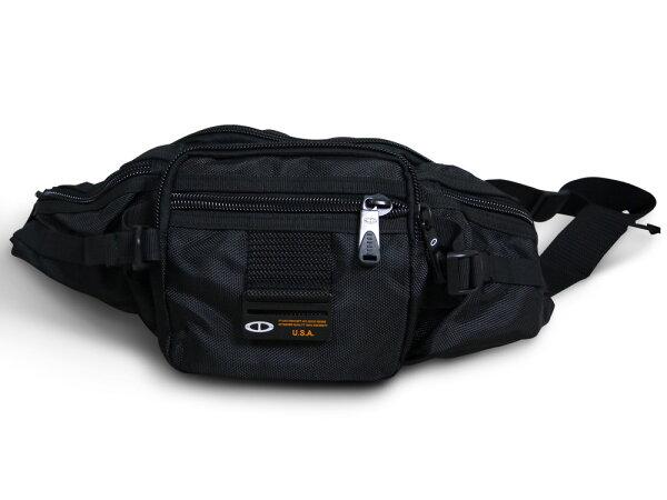 【加賀皮件】 TATI 防潑水 多層收納 水餃型腰包【ST071】