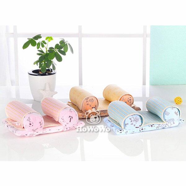 亞麻寶寶枕 四季可用嬰兒枕 可調節側睡枕 CE3009