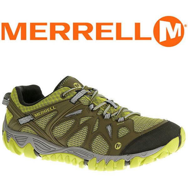 MERRELL ALL OUT BLAZE AERO 男 水陸兩棲鞋 墨綠/綠 65099 登山鞋│健行鞋│休閒鞋
