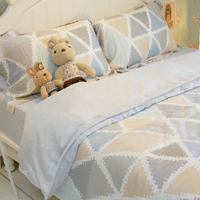 天絲床組  米拉  多種尺寸組合賣場 100%木漿纖維 9
