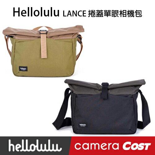 hellolulu LANCE 捲蓋單眼相機包 30017黑色 - 限時優惠好康折扣