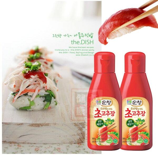 韓國韓式醋辣椒醬 沾生魚片、海鮮、拌飯都美味 [KO52435596]千御國際