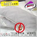 A-nice 專利認證 TPE專業防蹣。鋪棉保潔墊枕墊【3M。防水。透濕。透氣】鋪棉枕墊一入
